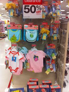 The Dr. Seuss Baby Items Have Been Marked Down To 50% Off.