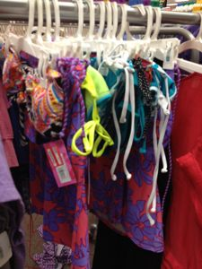 2fc2c48264b30 I found some swimsuits marked down to 70% off at my Target (Kent, WA). Use  the $3/1 Target coupons and it will make for some amazing deals.