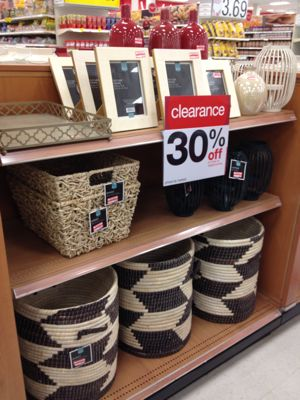 Target Has Clearanced A Major Portion Of The Home Decor Items They Are Currently 30 Off These Items Will Go Down To 50 Off And Then 70 Off
