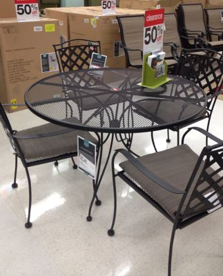 This entire table ... & Target: Patio Furniture u0026 Accessories 50-70% off | All Things Target