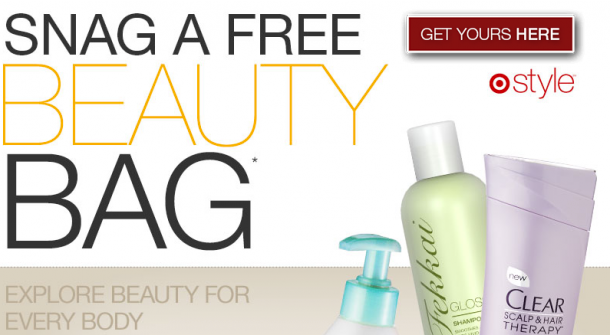 Free Target Beauty Bag With Samples Coupons All Things