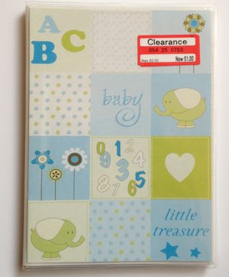 target baby photo album