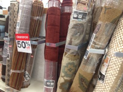 Quite A Few Area Rugs Have Been Marked Down To 50% Off.