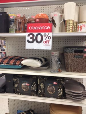 Target weekly clearance update 70 off home decor 50 off halloween more all things target Target blue home decor