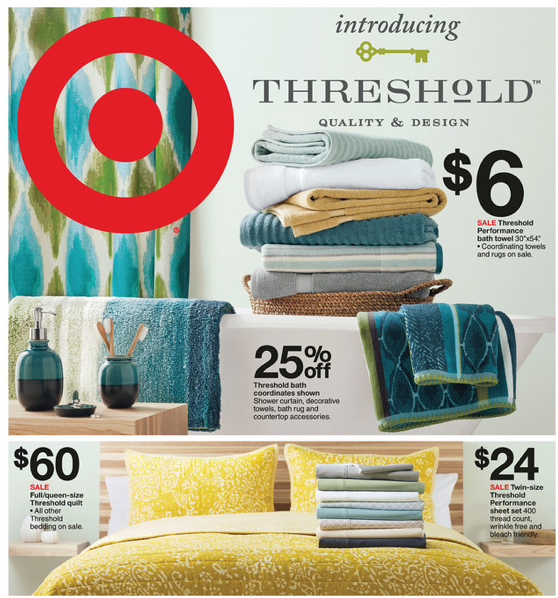Target: Threshold Home Items On Sale + Coupons