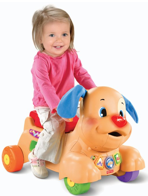 fisher price laugh learn stride to ride puppy coupon