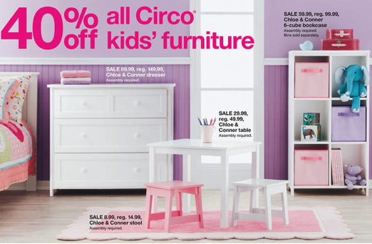 Target Target Com 40 Off All Circo Kids Furniture All Things