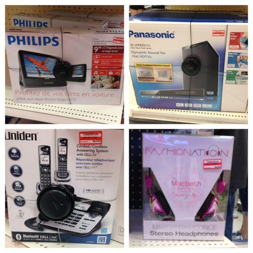 Coupon electronics target