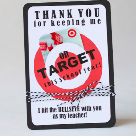 Landee See, Landee Do: Creative Ideas for Teacher Gifts with Supplies from Target