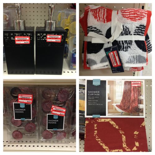 Target Weekly Clearance Update (70% off Shoes, Accessories, & Bath ...