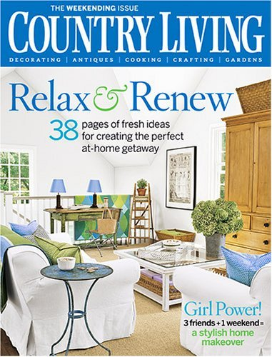Year Subscription To Country Living Magazine 5 99 6 3 Only