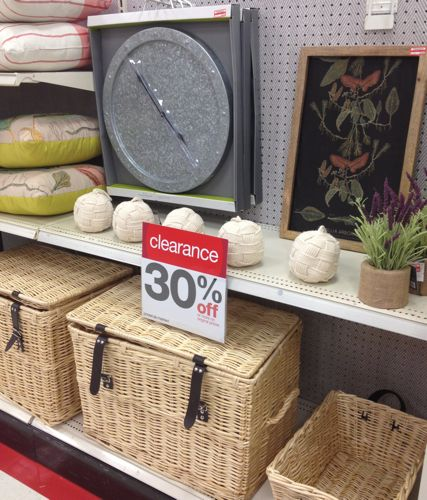 clearance decor target amount huge