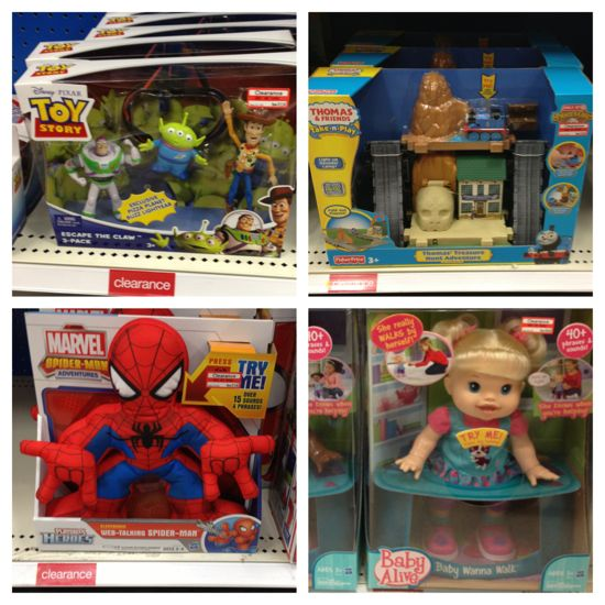 july target toy clearance