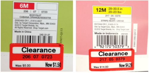Retail Price Tags: Amazon.com |Price Tags For Clothing