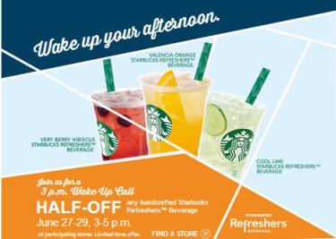 Starbucks Refreshers 50 Off 627 629 All Things Target