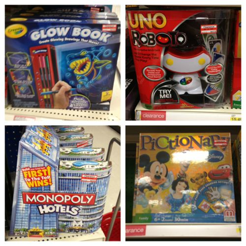 target clearance toys july