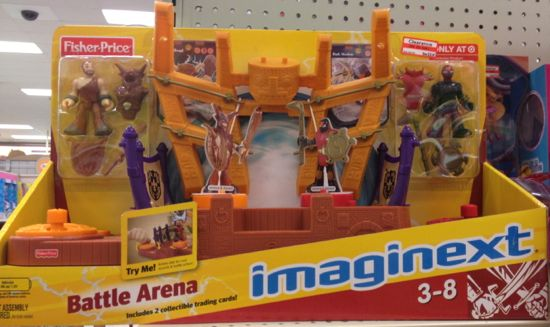 clear imaginext