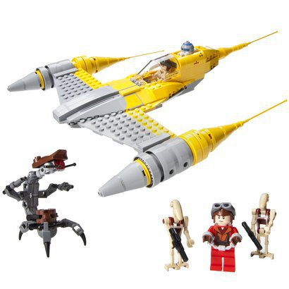Target.com Daily Deal: LEGO Star Wars Naboo Starfighter only $42 ...