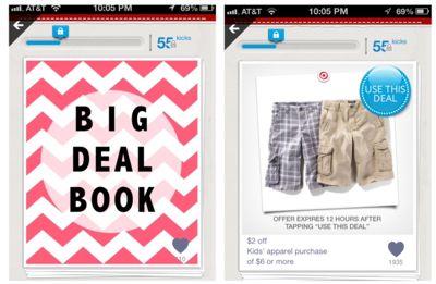 Shopkick Target coupons