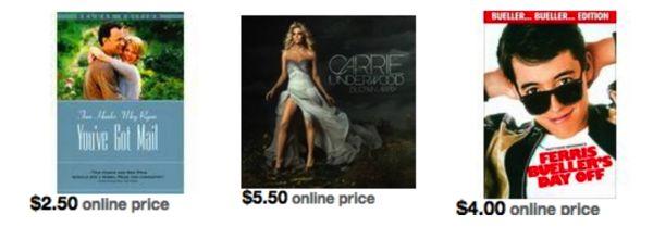 Target daily deal dvd cd