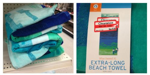 clear beach towels