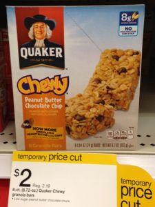 quaker granola