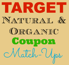 Target Natural & Organic Weekly Coupon Match-Ups