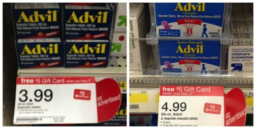 advil gift card deal