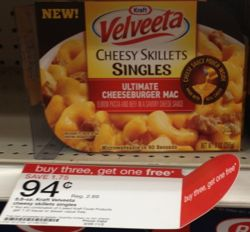 kraft velveeta cheesy skillets