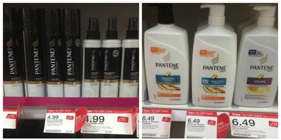 target pantene gift card deal