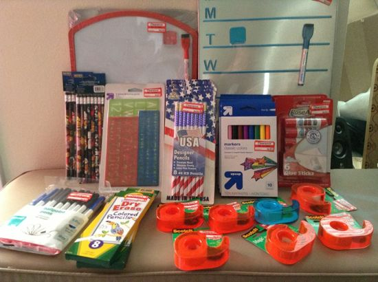 More target school supply clearance shopping trips all for Clearance craft supplies sale