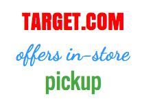 Target.com in-store pickup