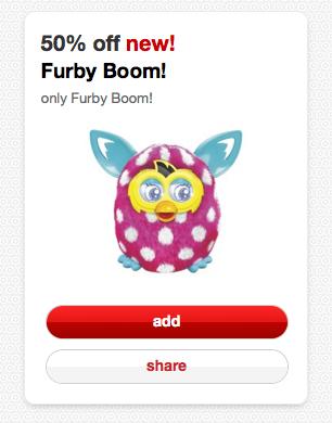 Target Cartwheel Furby