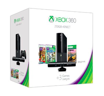 xbox 360 250 GB holiday bundle
