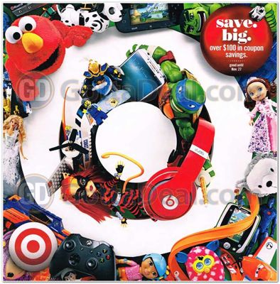 Target Toy Book 2013