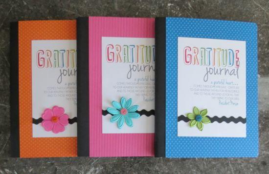 gratitude jounal set