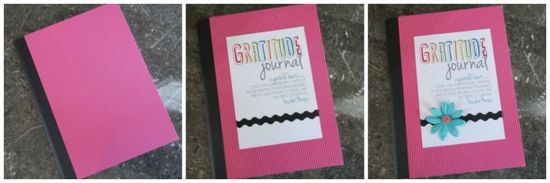 gratitude journal steps