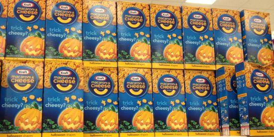 halloween mac and cheese