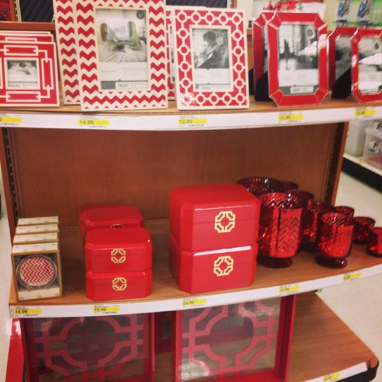 New exciting finds at target october 2013 all things Red home decor target