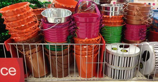 metal pails