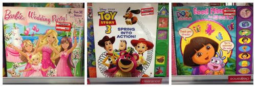 Target Toy Book 2013 : Target kids clearance books off all things