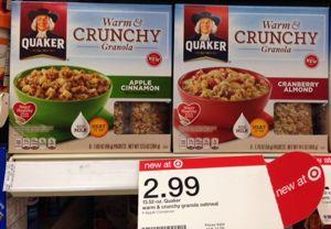 Quaker Warm & Crunch