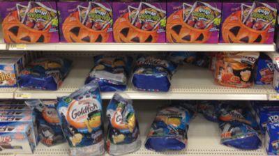 Target Halloween food clearance