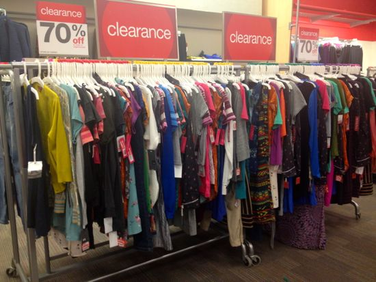 Target Store Clothing Section