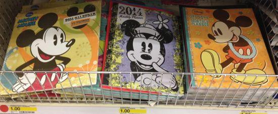 dollar Disney planners calendar