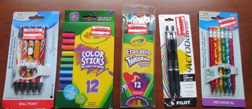 ss school supplies