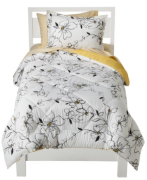 Lovely Room Essentials Sketch Floral Bed in a Bag off