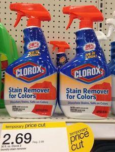 Clorox 2 stain remover