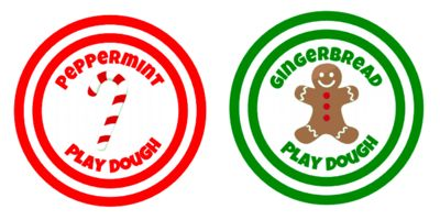 Free printables for play dough