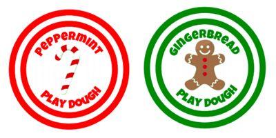 Free printables for play dough